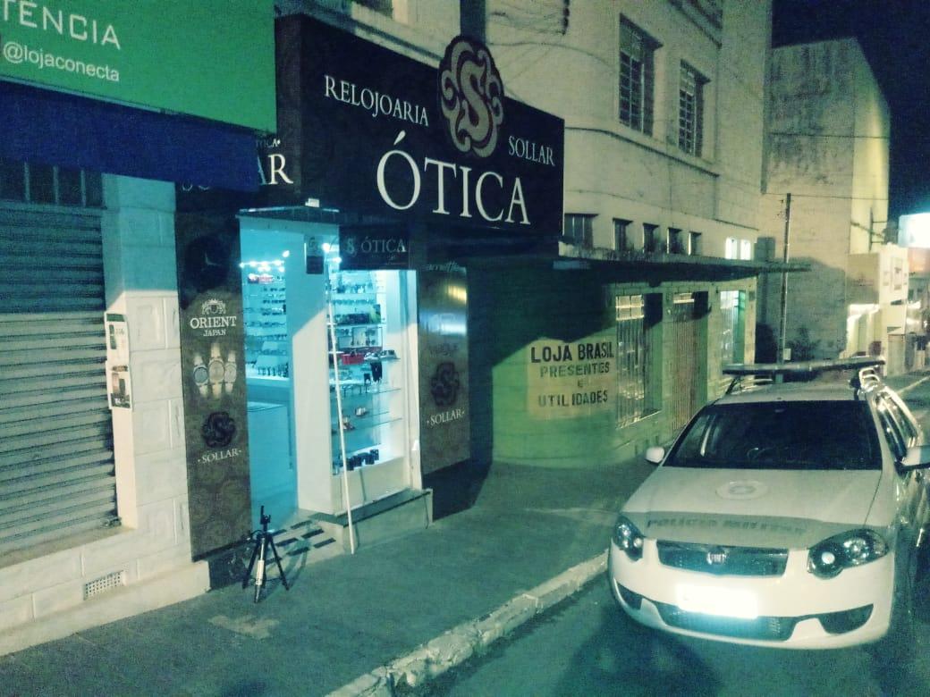 SBC do Sul - Ótica de Mafra sofre ação de assaltantes no início de madrugada  deste domingo e36d6c4e46